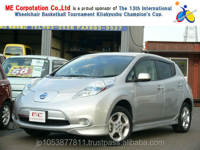 Popular nissan model LEAF 2011 used car with Good Condition made in Japan