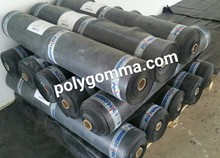 4mm self-adhesive EPDM Coiled Rubber Waterproof Membrane
