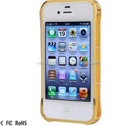 Cell Phone case/Metal Bumper With Buckle Design for iPhone 6
