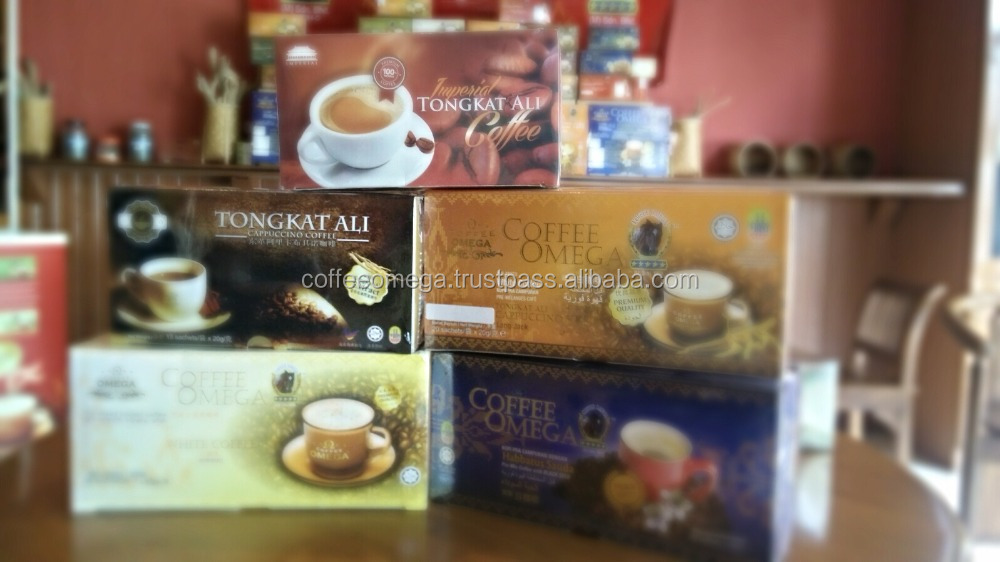 Tongkat Ali Cappuccino Coffee - House Brand Coffee Omega - Make Your Own Brand / Private Label / OEM Available