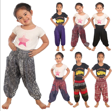 Childrens Harem Trousers Hippie kids clothes Baby Aladdin boho Funky Pants