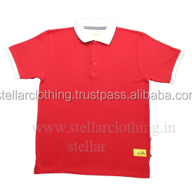 Mens polo shirt with custom logo