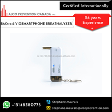 Supreme Grade Mobile Friendly Breathalyser with Easy to Carry Device
