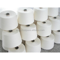 100% Cotton Gassed mercerized yarn for weaving - Super quality