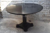 Cast iron dining table Industrial style furniture wholesale