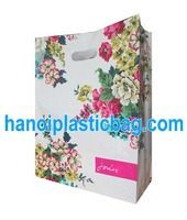 factory supply for collapsible cheap price good printing plastic shopping bags for shoes