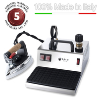 Professional ironing system GV01 INOX with copper boiler and anti-scale resistor 230 Volts (on request 110-120 Volts)