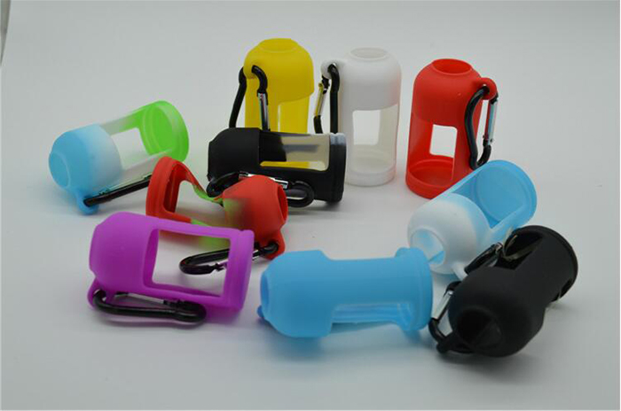 Silicone Carry Case For 30ml Ejuice Bottle E Liquid With Hook Holder
