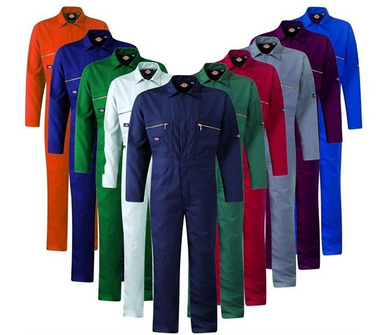 Custom workwear and uniform/Protective poly cotton jacket and trousers/