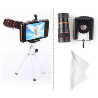 Universal 8x Zoom Optical Lens Mobile Telescope For Camera Mobile Phone New #55279