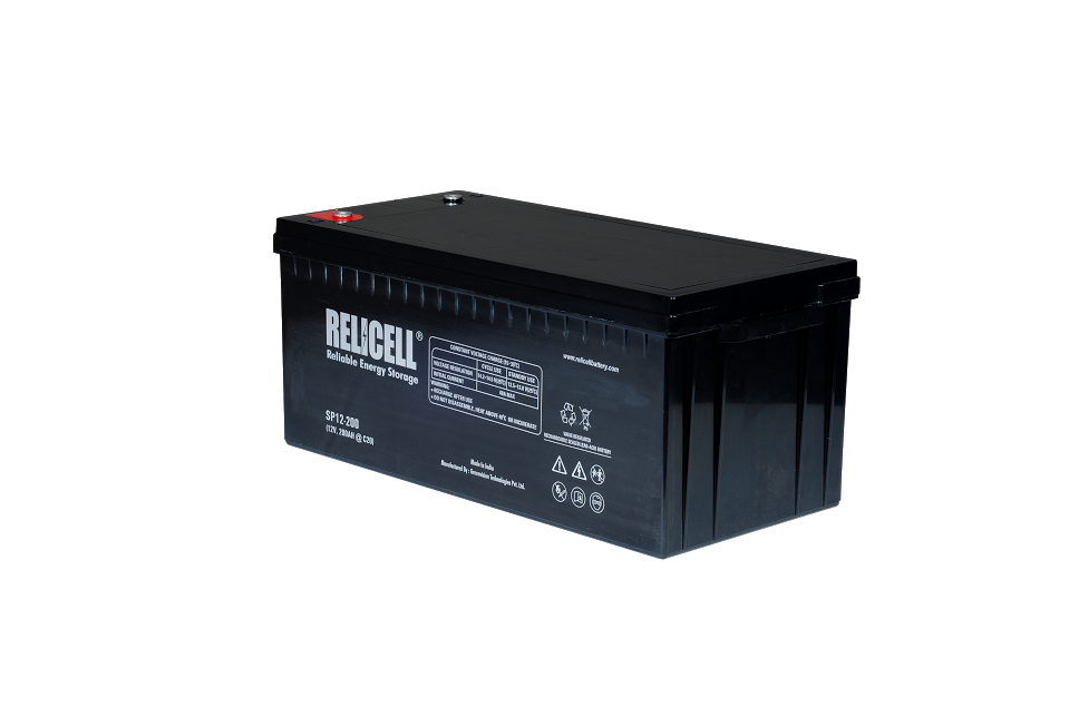 Relicell AGM VRLA / SMF Maintenance Free UPS Battery 12V 240AH