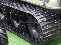 Construction/Agricultural rubber tracks for excavator,small robot rubber tracks(150*72)