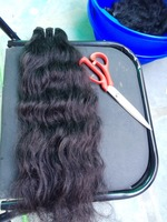 Top quality indian remy human hair weave, soft and smooth raw indian temple hair, wholesale indian hair