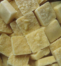 Frozen Ginger Cubes - Frozen Organic Peeled Ginger- IQF Ginger
