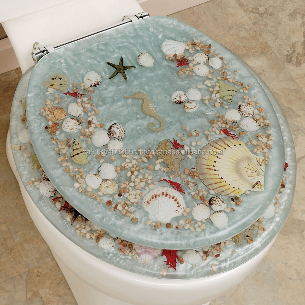 Jewel Shell Toilet Seat for sale