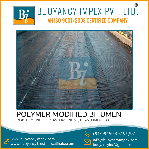 Polymer Modified Bitumen with Water and Moisture Resistance Property