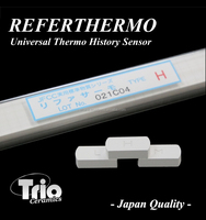 "Reliable and Convenient fine ceramics Universal Thermal History Sensor ""REFERTHERMO"" for kiln , small lot order available"