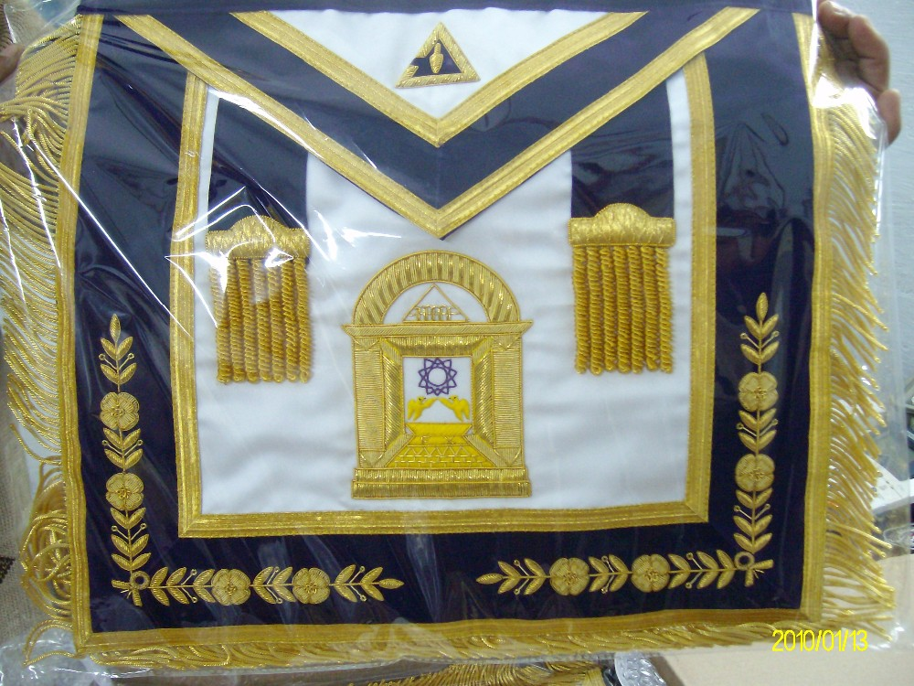 High Quality Hand Embroidered Masonic Regalia Aprons