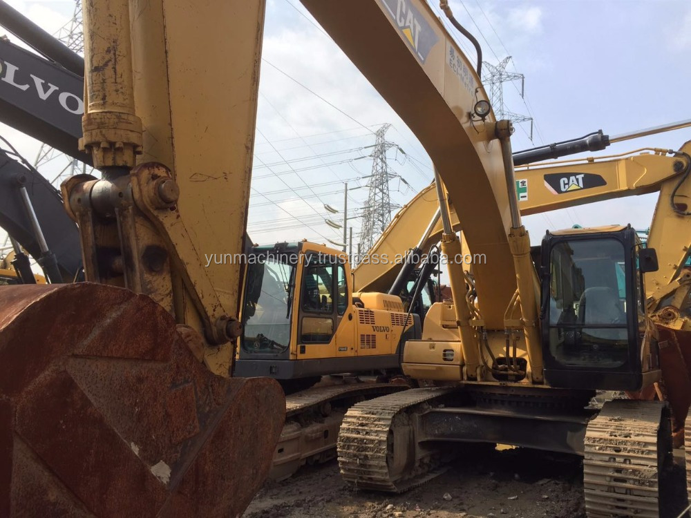 Used CAT 330C excavator imported from Japan