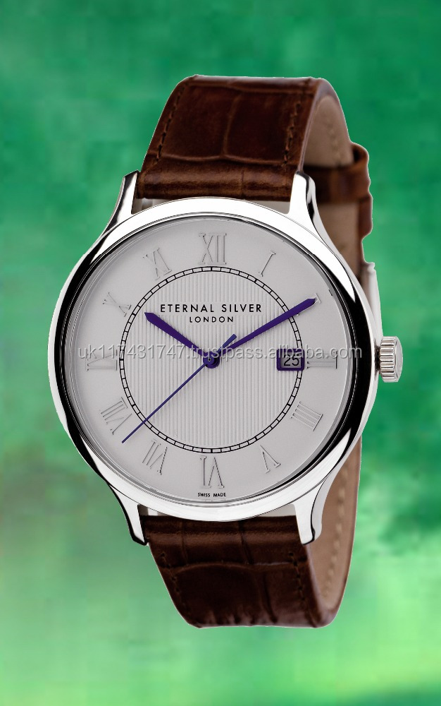 ETERNAL brand Premium Quality Argentium 960 Silver Watch