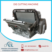 Die Cutting and Creasing Machine with Electromagnetic Clutch & Break System