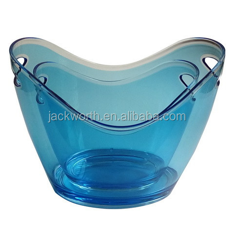 Boat Shaped Ice Bucket Acrylic Bottle Bucket