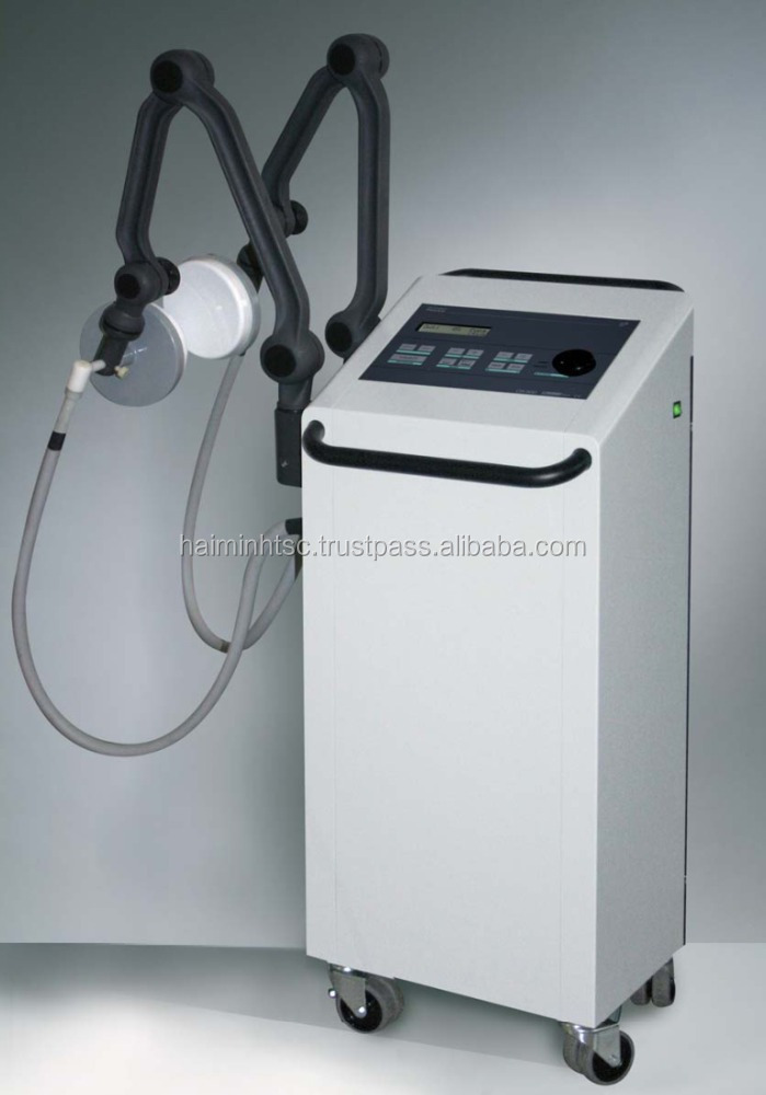 Shortwave continuous and pulsed diathermy device DX500 for Hospital equipment, Clinic in Physiotherapy