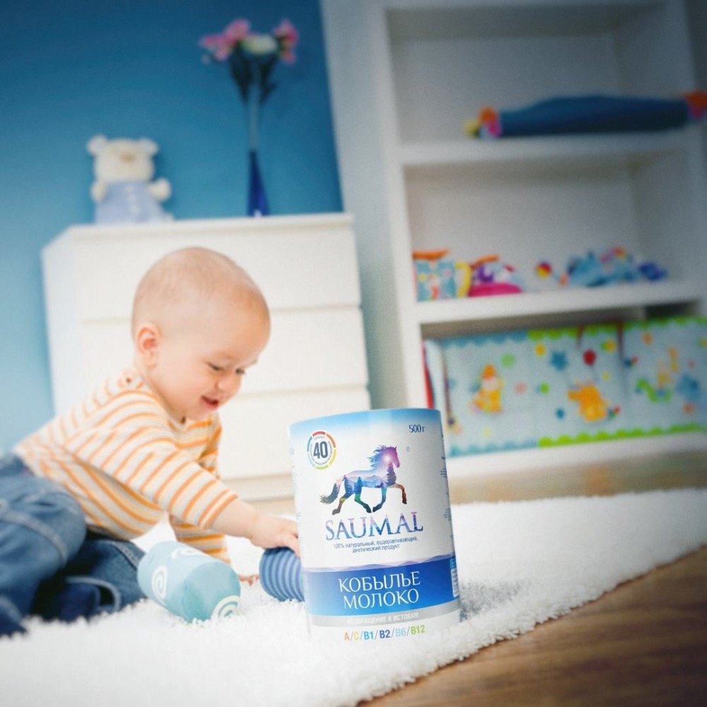 Mare's milk is very similar to breast milk, highest quality baby milk powder
