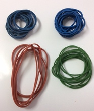 80% Quality Colored Rubber Bands For Spain Market
