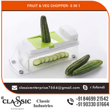 Attractively Designed Vegetable Chopper with Cleaning Comb at Amazing Price