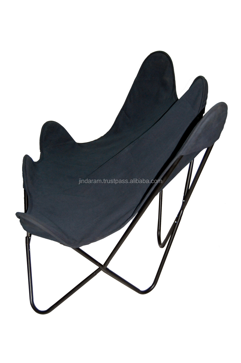 Scandinavian Canvas Double Butterfly Chair