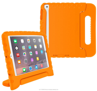 Drop Protection EVA Convertible Handle with Kickstand, Kid Friendly Protective Cover Case for iPad Mini 3 2 1 roocase (orange)