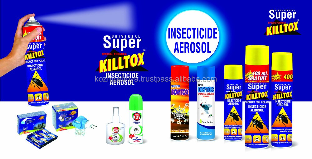 Aerosol Insecticide Mosquito Repellent Spray Cockroach Killer