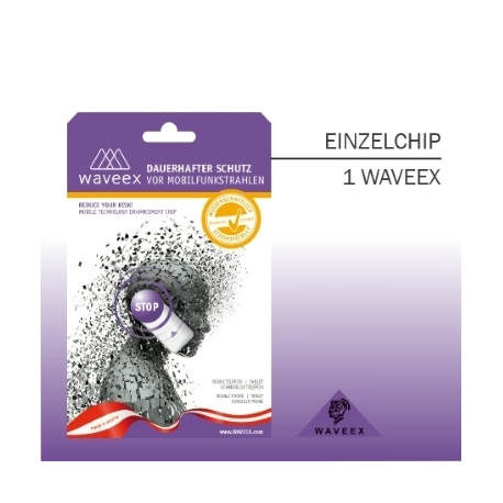 WAVEEX Anti-Radiation Sticker for Mobile Devices