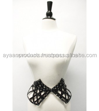 Woven Peplum Leather Belt High Quality AP-4712