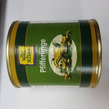 Chanterelles in can
