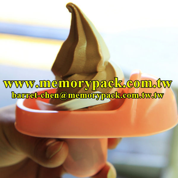 toilet bowl-shaped ice cream cup
