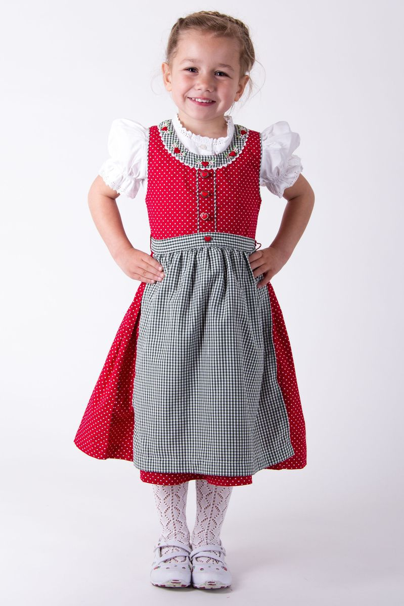 Original In Germany For Traditional Outings And Celebrations Girls Wear Dirndls Which Consist Of A ...
