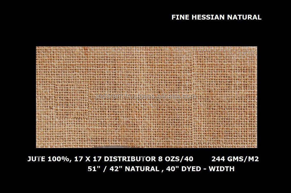 julitex fabric - jute cotton flex bleached laminated jute fabric