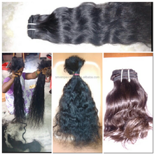 unprocessed 100% cheap virgin indian hair,premium body wave indian human hair extension unprocess hair texture