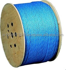 6mm polypropylene rope on drum