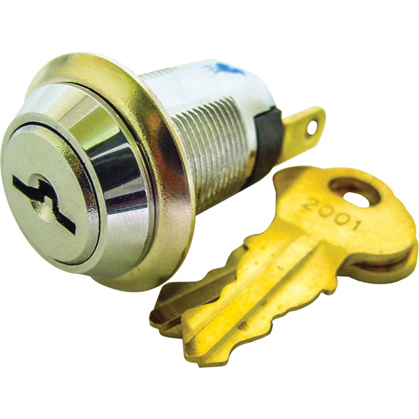 SPST Double Sided Key Switch