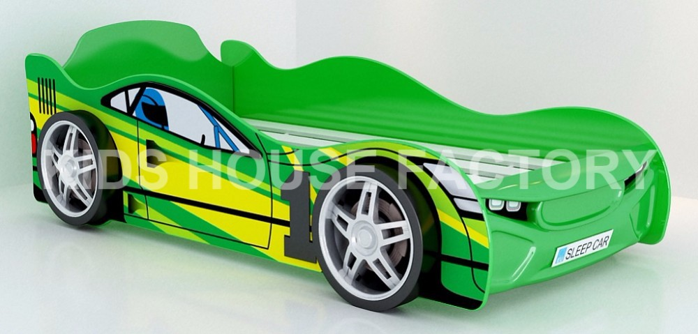 eco green racing car bed kids race car bed