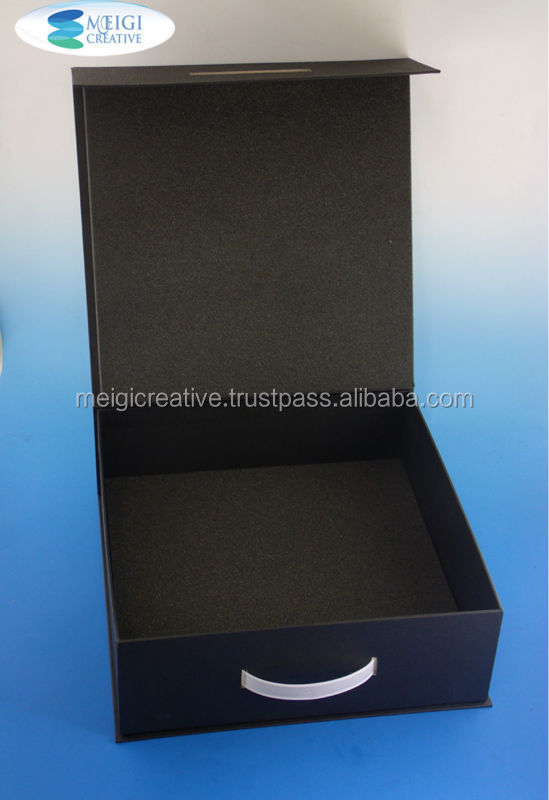 Custom One Piece Stationery Box, Matte Finish Chipboard Gift Box