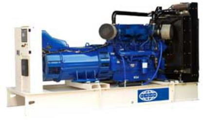 Diesel Generating Set 400/350 KVA. Open Version. Model: P400-1