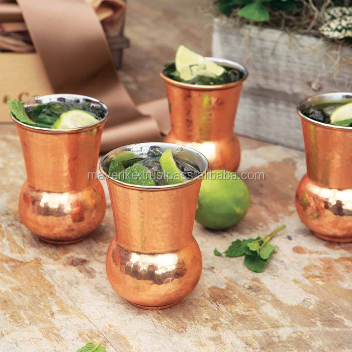 Napa copper hammered Tumbler, FDA Approved