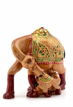 2017 Wholesale Vintage Design Handmade Wooden Camel
