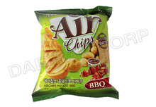 Potato Chips barbeque flavor