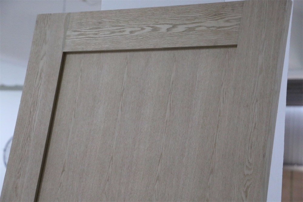 Full panel v groove knotty pine painted interior solid for Solid wood interior barn door