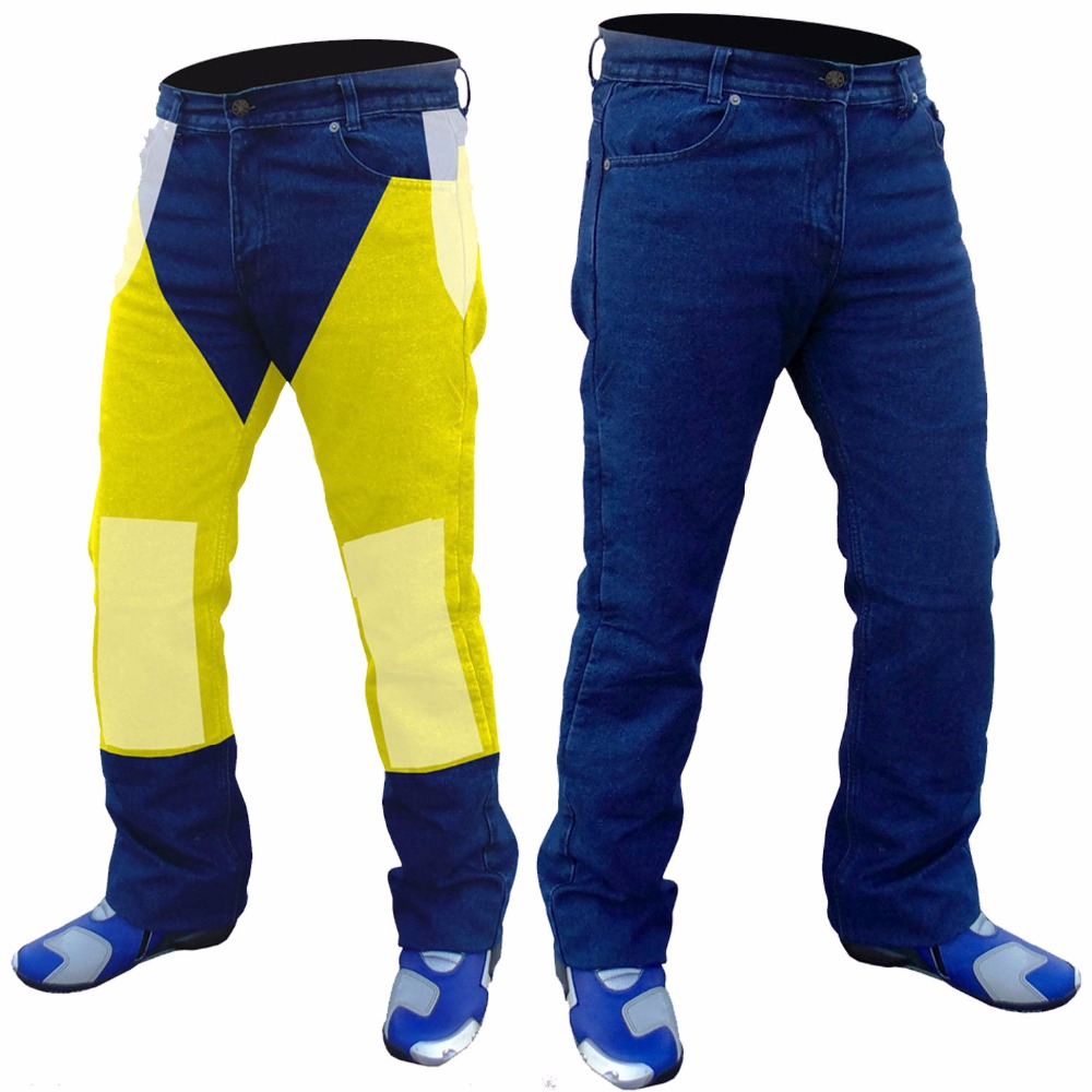 NEW MENS DENIM MOTORCYCLE REINFORCED KEVLAR JEANS